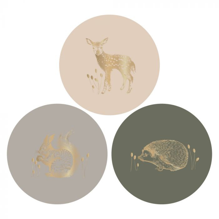 Stickers | Multi | Forest | 3 stuks