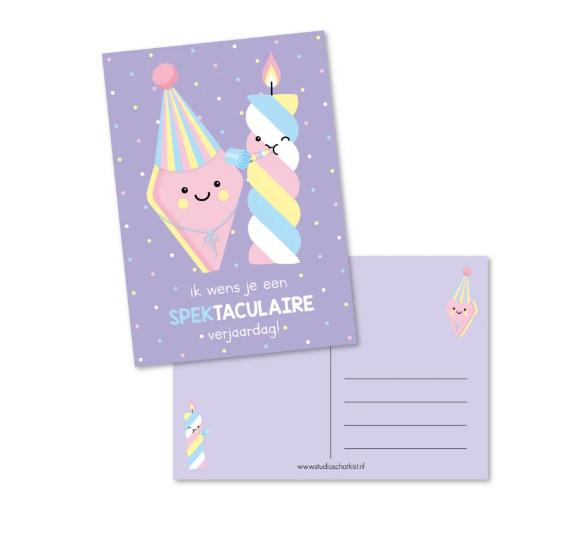 Postkaart | Spektaculaire verjaardag