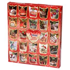 Kerst Adventskalender voor Katten