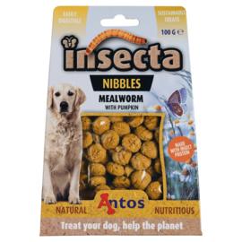 Insecta Nibbles - Meelworm & Pompoen Insecten Snacks