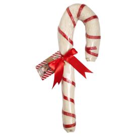 Candy Cane XL Party Kauwstok Runderhuid Kerst Cadeautje voor honden