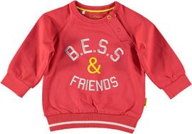 B.E.S.S. Sweater Friends Red