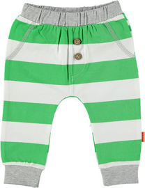 B.E.S.S. Pants Striped Green