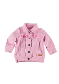 B.E.S.S. Jacket Ruffles Pink