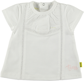 B.E.S.S. Shirt Crochet-White