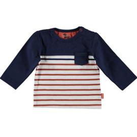 B.E.S.S. Shirt Striped With Pocket