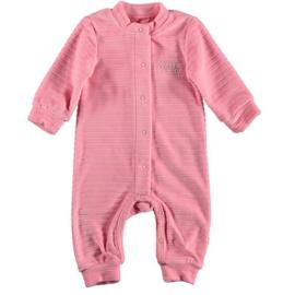 B.E.S.S. Suit Velvet Striped Pink