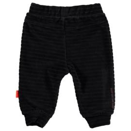 B.E.S.S. Pants Velvet Black