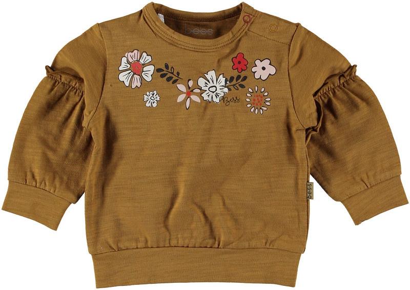 B.E.S.S. Sweater Flowers
