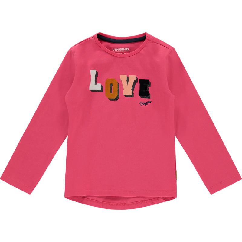 Vingino Shirt Jolina Power Pink