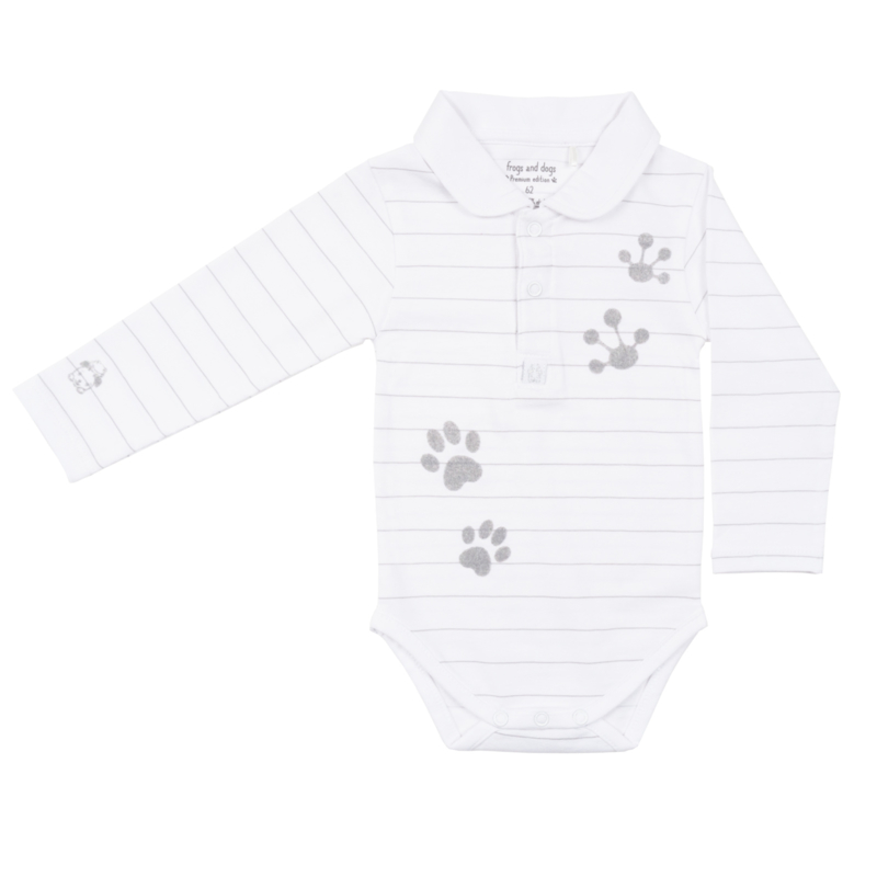 Frogs & Dogs Lucky Polo Romper