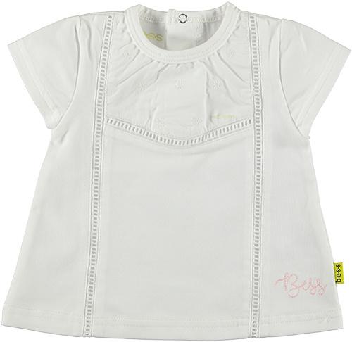 B.E.S.S. Shirt Crochet-White