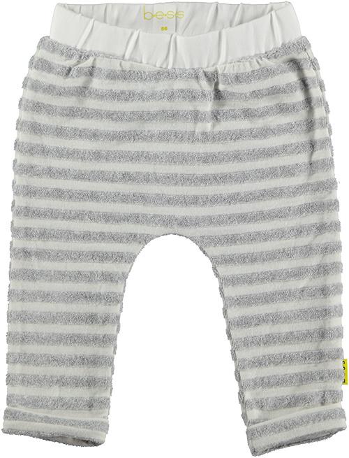 B.E.S.S. Pants Striped Grey