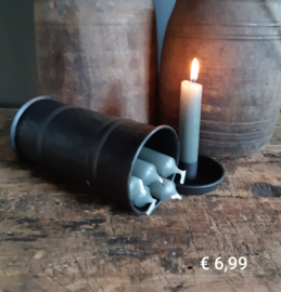 Kaarsenstandaard met opbergbox- Pakketpost