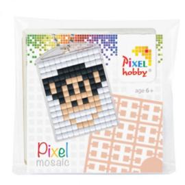 23005 Pixel sleutelhanger set compleet - Aap
