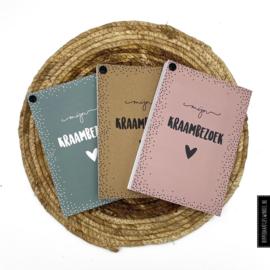 Kraambezoek boek Roze - HippeKaartjes