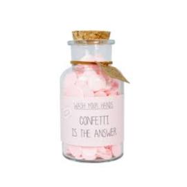 Confetti handzeep - confetti is the answer - My Flame Lifestyle - Pakketpost