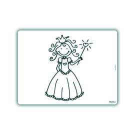 Herkleurbare Placemat -Prinses - PAKKETPOST!