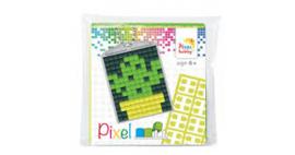 23026 Pixel sleutelhanger set compleet - Cactus