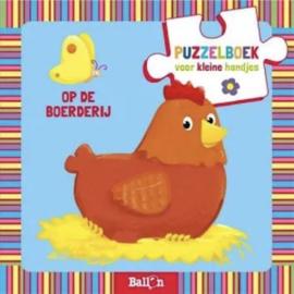 Puzzelboek De Boerderij - De Ballon