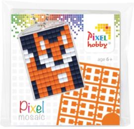 23001 Pixel sleutelhanger set compleet - Vosje