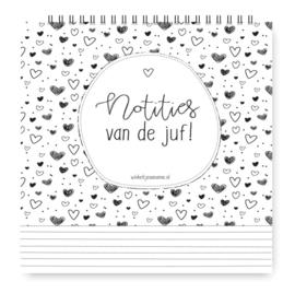 Weekplanner van de Juf - Winkeltje van Anne