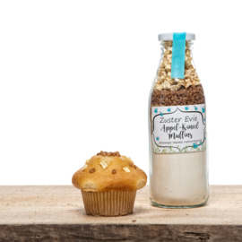 Muffinmix- Appel Kaneel - Zuster Evie - PAKKETPOST!!
