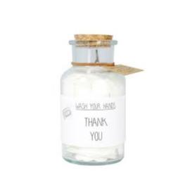 Confetti handzeep - Thank you - My Flame Lifestyle - Pakketpost