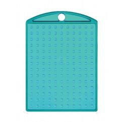 Losse sleutelhanger Turquoois met kettinkje  -  Pixel Hobby