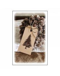 GvN040 Geurzakje met envelopje - Kerst