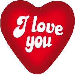 Big Sign I Love You - PAKKETPOST!