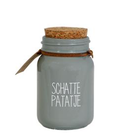 Soja kaars Schatje Patatje - My Flame Lifestyle - Pakketpost