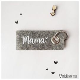 Sleutelhanger Mama - Miek in Vorm