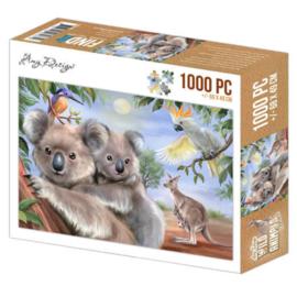 Puzzel Koala 1000 stukjes - Pakketpost