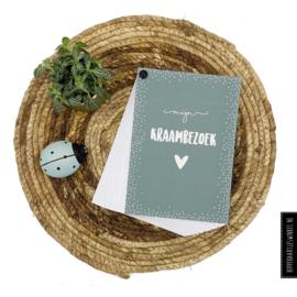 Kraambezoek boek Groen