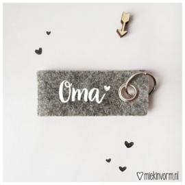 Sleutelhanger Oma - Miek in vorm