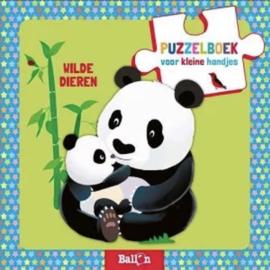 Puzzelboek Wilde Dieren - De Ballon