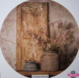 Muurcirkel 360 Bloemen