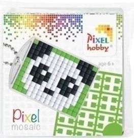 23004 Pixel Sleutelhanger set compleet Panda