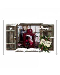 GvN041 Geurzakje met envelopje - Kerst/Winter