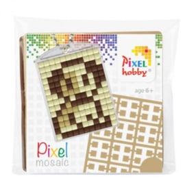 Pixel sleutelhanger set compleet - Puppie