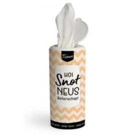 Tissues koker - hoi snot neus beterschap - PAKKETPOST!!