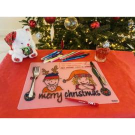 Kinder knutsel artikelen - Herkleurbare Placemats