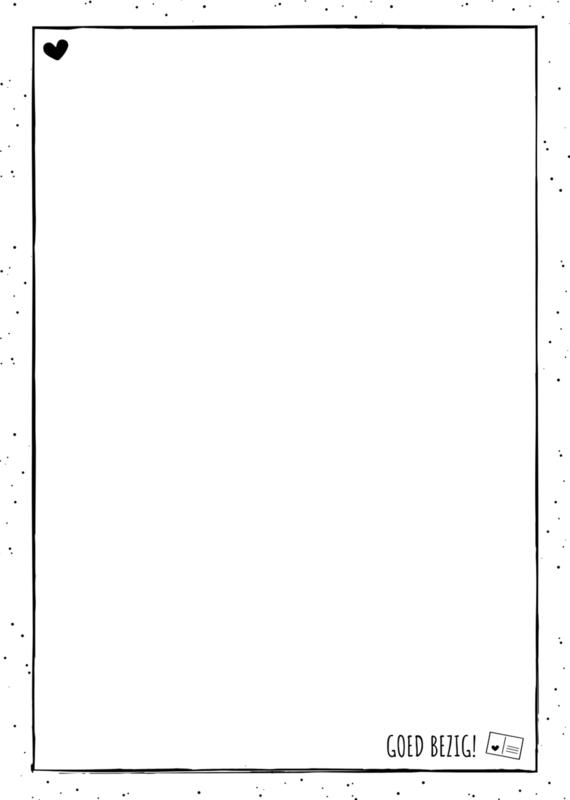 Notitie blok Goed Bezig - Liefs op papier