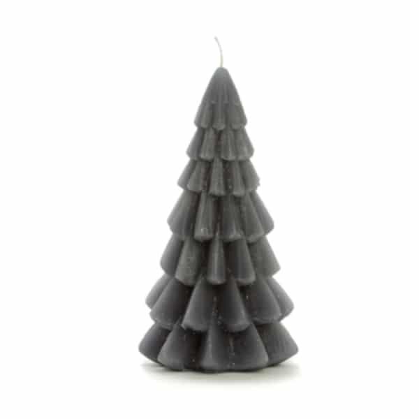 Kerstboom kaars Rustyk Grey - Pakketpost