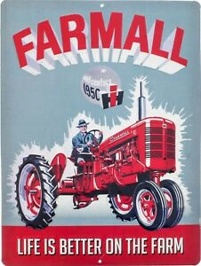 Farmall Life is better on the farm