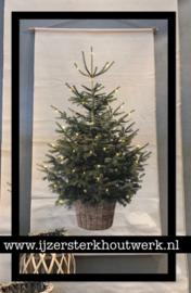 Wanddoek Kerstboom 1