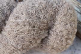 Superfine Alpaca Bouclé Beige tint