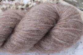 Baby Alpaca Fine Lace Fluffy Koffie