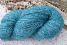 Baby Alpaca Fine Lace Fluffy Blauw